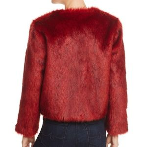 Band of Gypsies Jackets & Coats - Gorgeous Red Faux Fur Jacket by Band of Gypsies